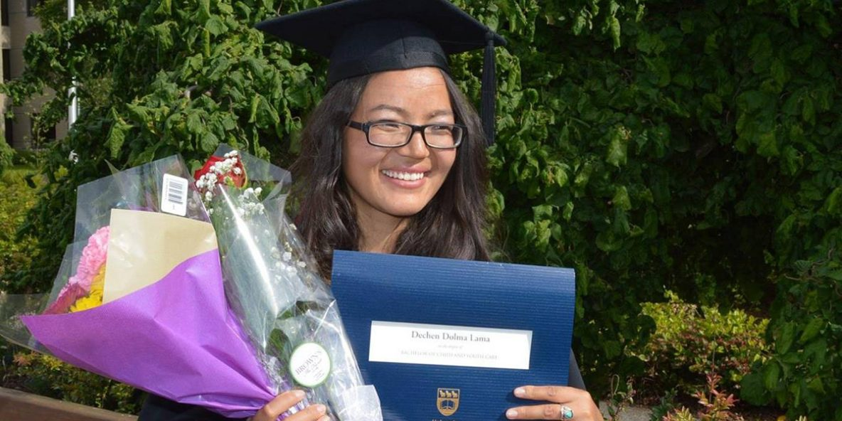 SMD Alumna Dechen Dolma graduates from UVic