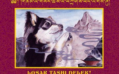 Losar Tashi Delek from SMD