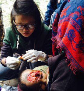 SMD Health Assistant Nelha Sangmo